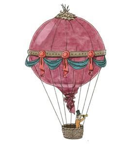 Illustration Zwiebelballon