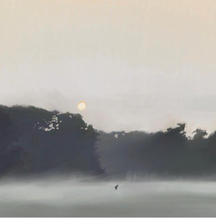 Landschaft Illustration