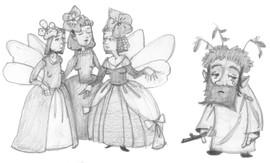 Kinderbuchillustration Szene
