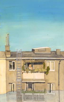 Stadt Illustration