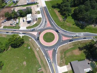 Jackson Street Roundabout - Finalization