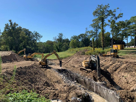 Southern University Erosion Improvement - In Progress