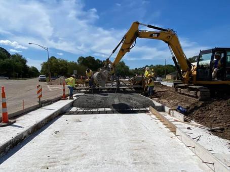 LA 384, LA 385 Intersection - In Progress