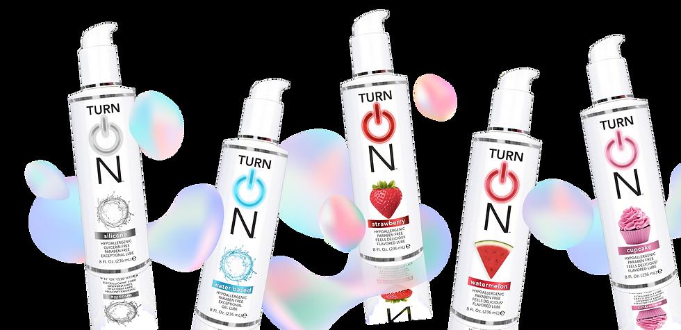 TurnON Sex Lube Variant Model