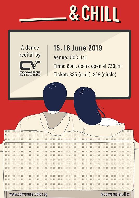 recital 19 poster