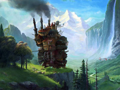 Travelling is like being inside Howl's Moving Castle