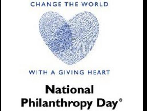 Celebrating Giving: National Philanthropy Day
