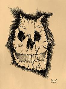 Dirty Harry the skull