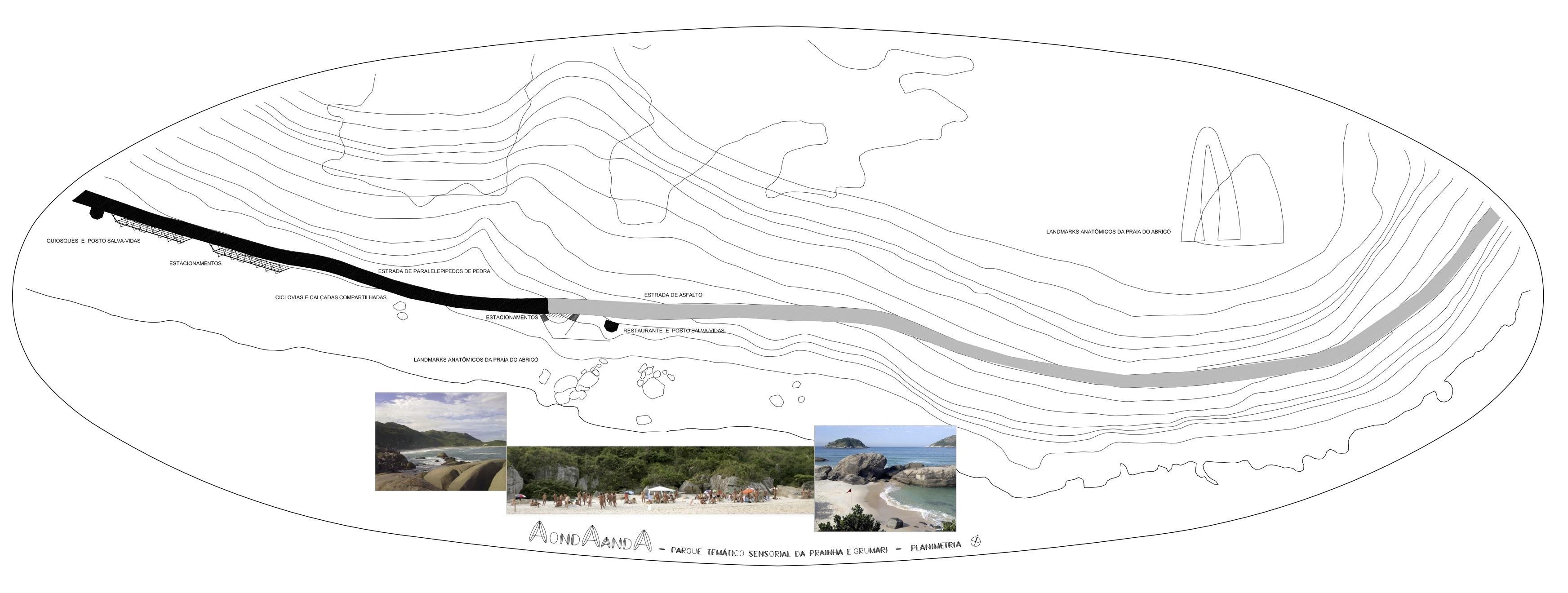 Sensorial park Abrico beach