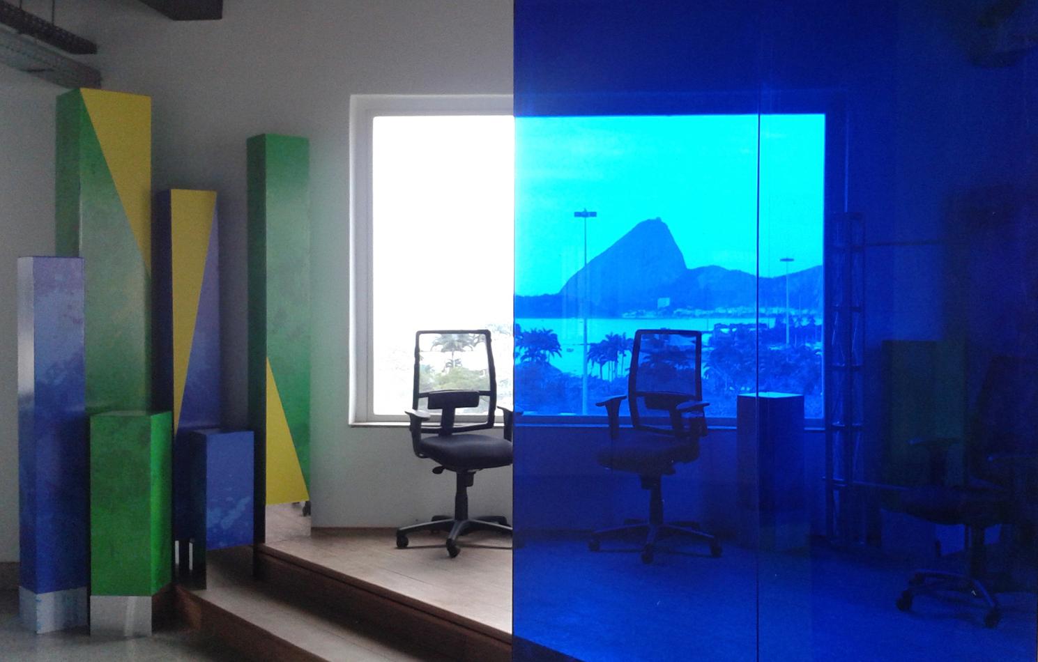RAI television broadcasting studio