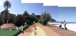 Mondello waterfront