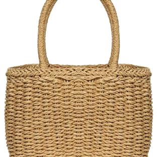 Straw Bags for Women, Hand-woven Straw S