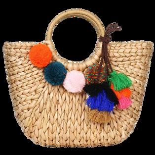 Summer Rattan Bag for Women Straw Hand-w