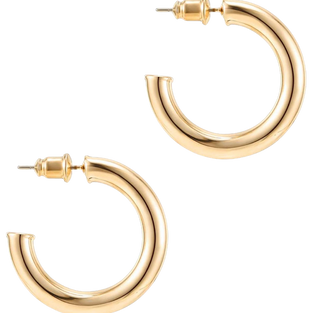 PAVOI 14K Gold Colored Lightweight Chunk
