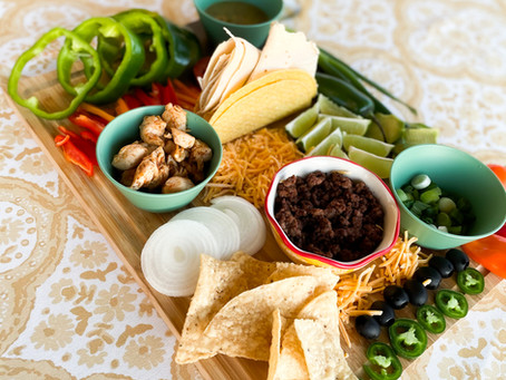 How to Make an Easy Taco Board for Cinco De Mayo