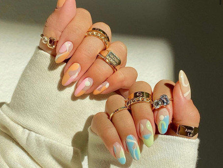 40 Summer Nail Trends: Pastel and Neutral Nail Color Inspiration 2021