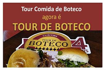 Tour Comida de Boteco mudou para Tour de