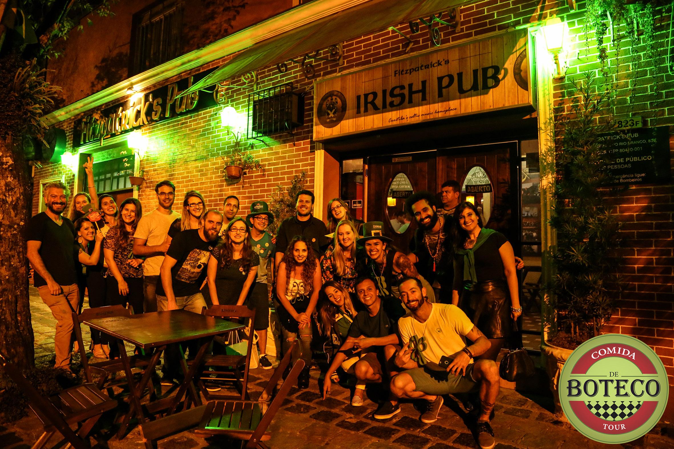 Tour Comida de Boteco - FitzPatricks Pub (2)