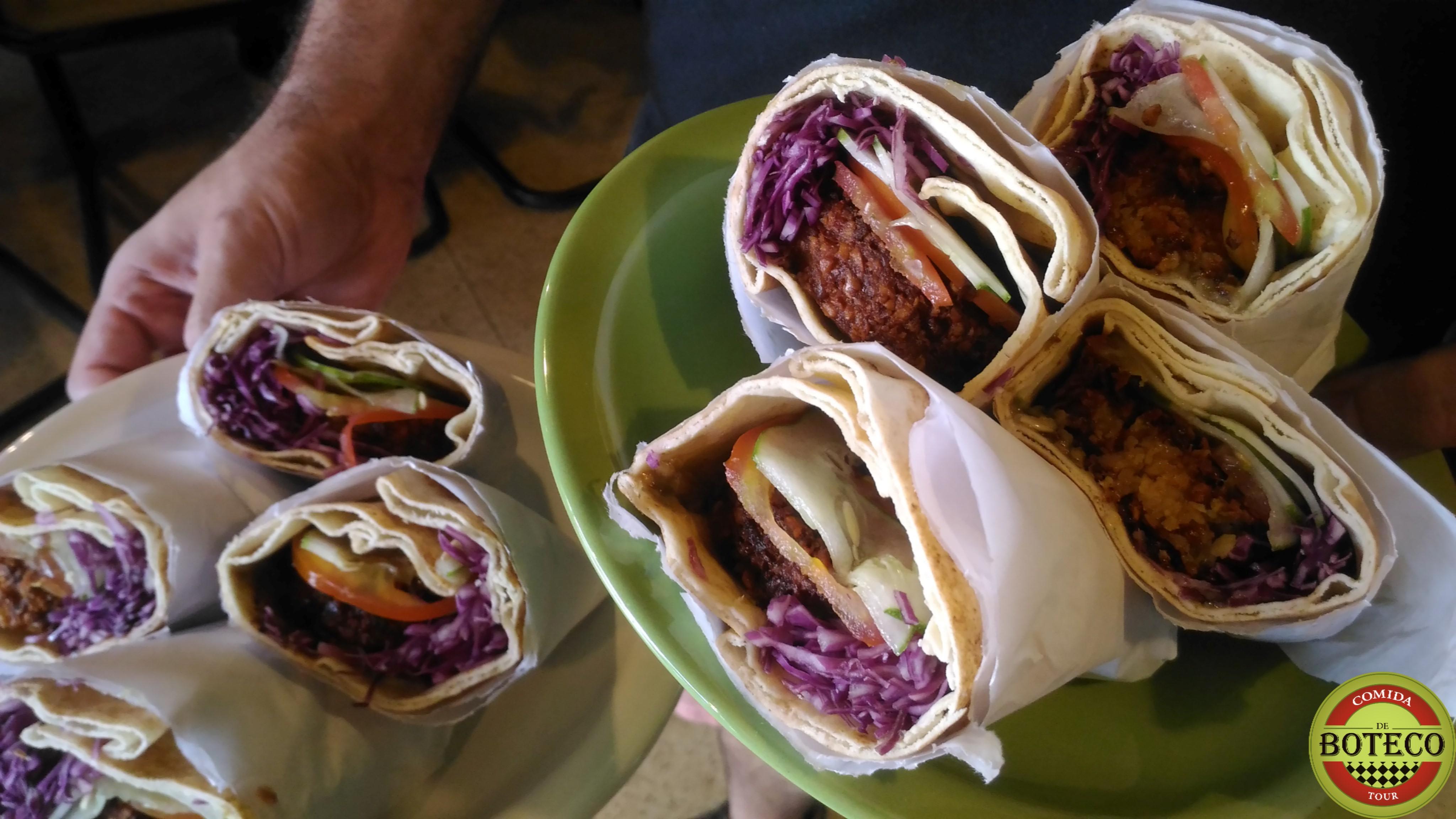 Sanduíche de Falafel - Jardinete Bar