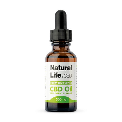 500mg Broad Spectrum (PCR) Hemp Oil