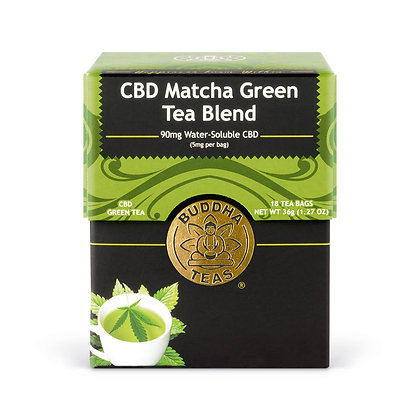 Organic CBD Matcha Tea Blend