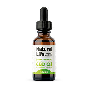 Natural Life CBD Peppermint Oil 500mg_MA