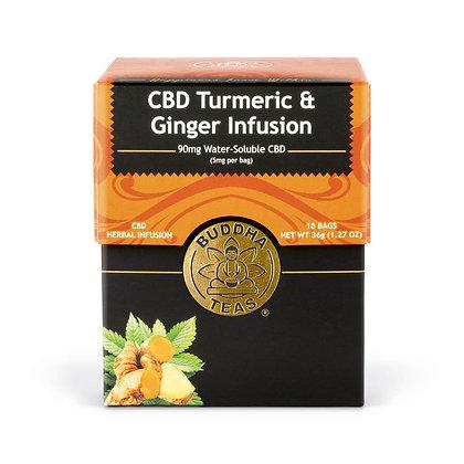 Organic CBD Turmeric & Ginger Infusion