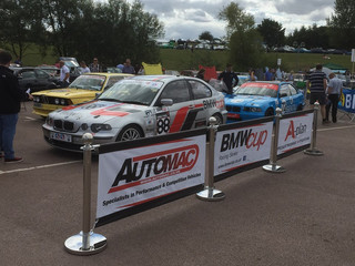 BMWcup put on a good show at Gaydon - National BMW Show - Motorsport area