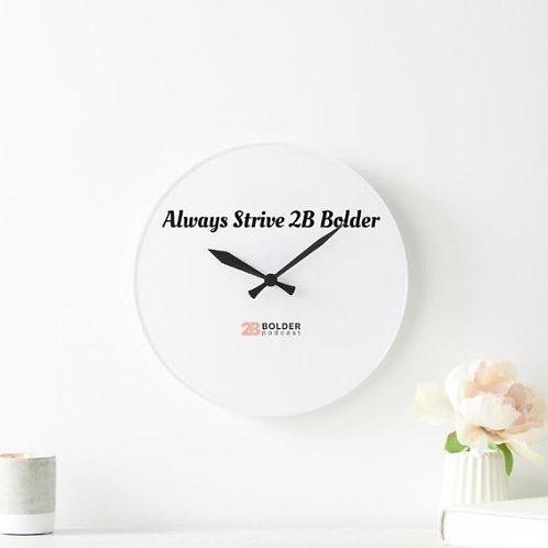 2B Bolder Clock