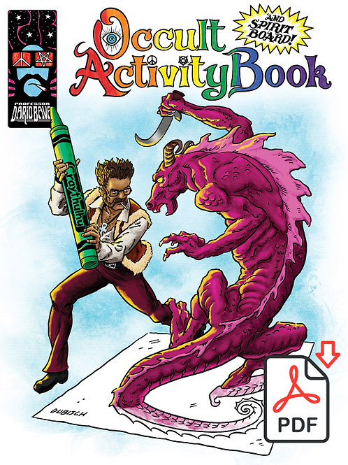 PDB: OCCULT ACTiViTY BOOK (and SPiRiT BOARD!) PDF