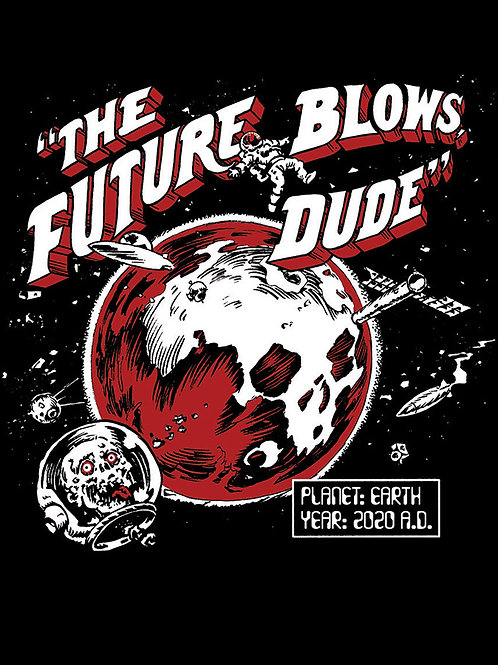 The Future Blows Unisex Tee