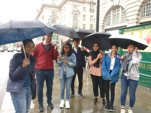 Ice cream outing August 2019, Amoyel and Fernandes labs