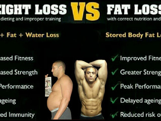 Weight Loss vs Fat Loss What's The Difference?