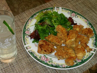 How To Make Almond Crusted Baked Chicken Strips