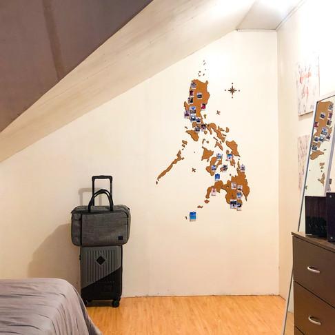 PHILIPPINE CORK MAP