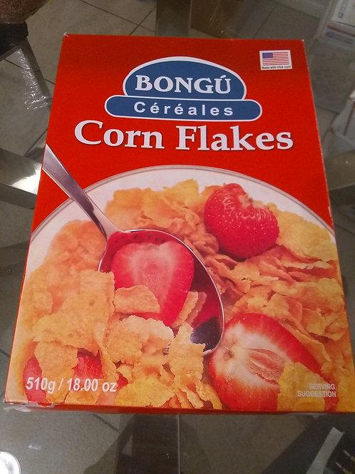2 Haitian corn flakes yonn nan bwat yonn san bwat