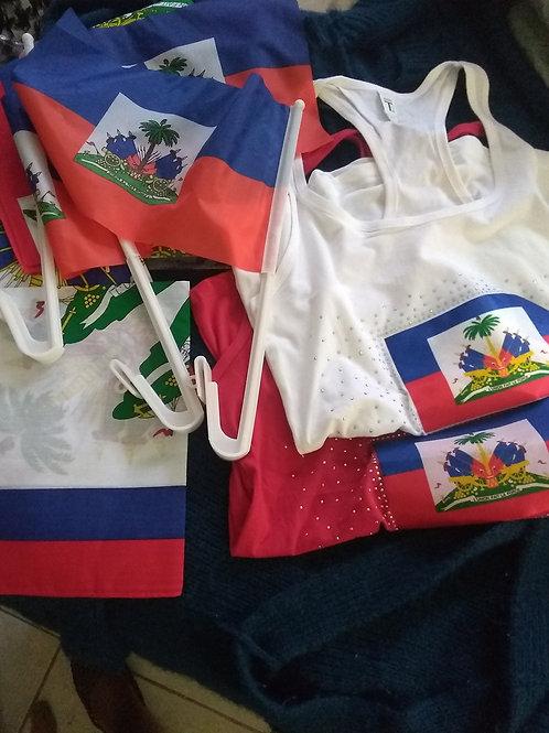 4 mouchoir, 2 mayo large, 4 car drapeau free shipping