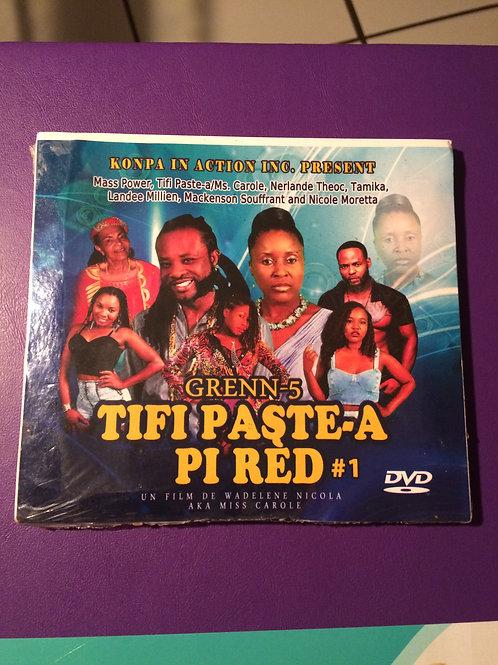 Grenn5/Tifi Paste-a Pi red #1 & #2 2 dvd free shipping