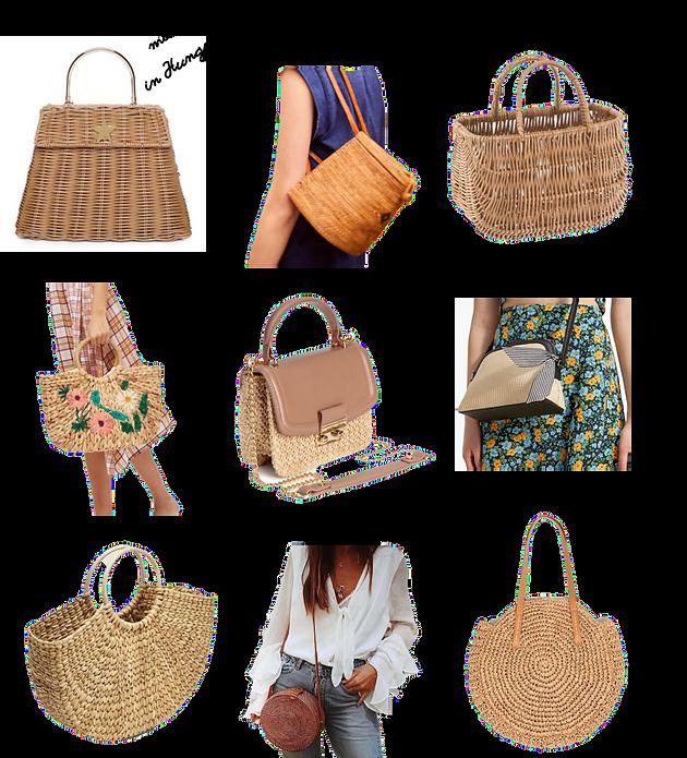 10ef546abf86 Ami még plusz, hogy ezekhez a táskákhoz tökéletesen passzolnak a fonott  stílusú cipők is.