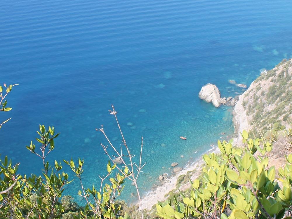 Se baigner aux Cinque Terre