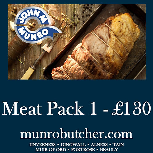 Meat Pack 1 - £130