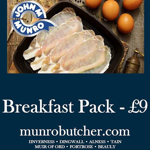 Breakfast Pack - £9