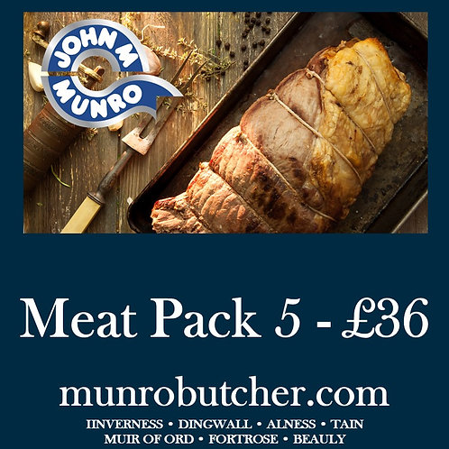 Meat Pack 5 - £36