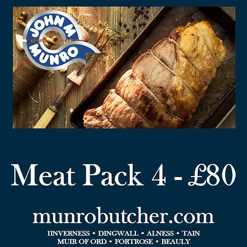 Meat Pack 4 - £80