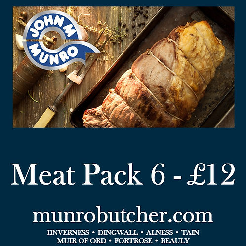 Meat Pack 6 - £12