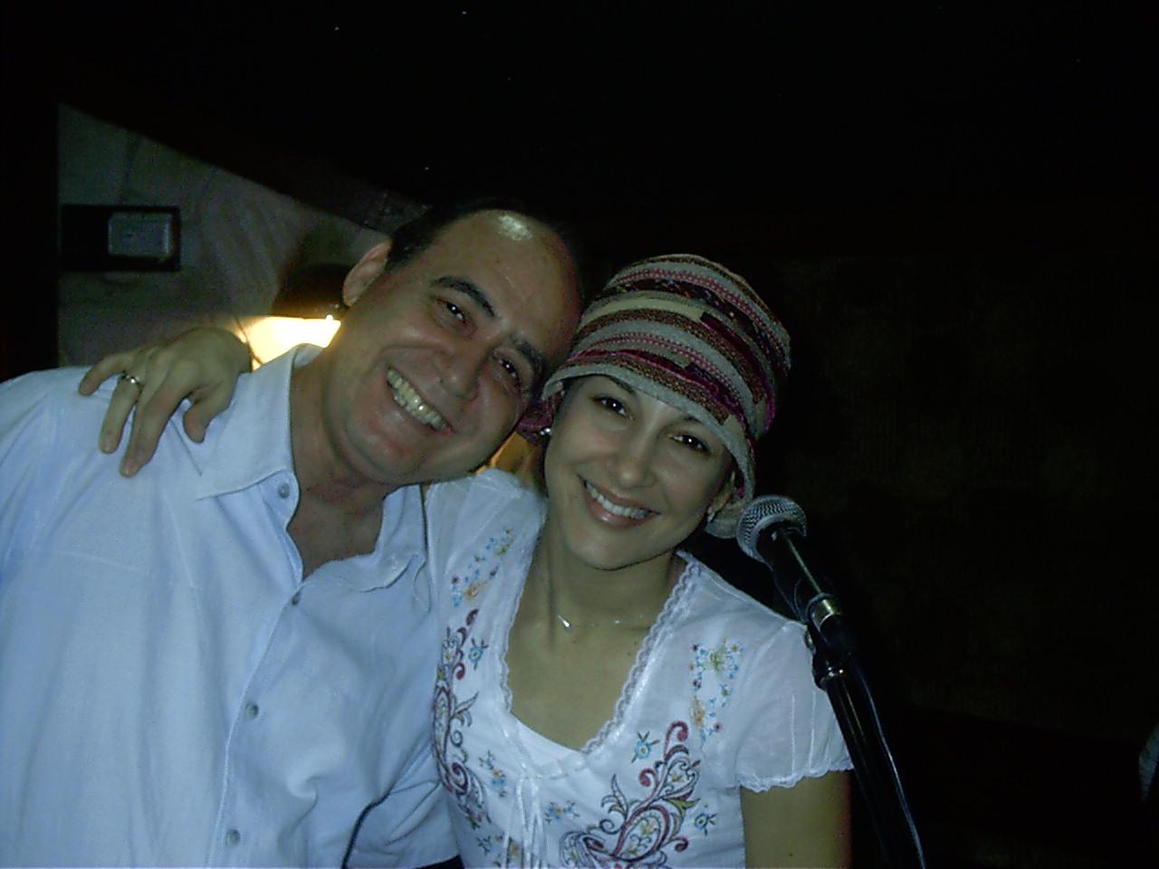Rangel e Claudia Leite