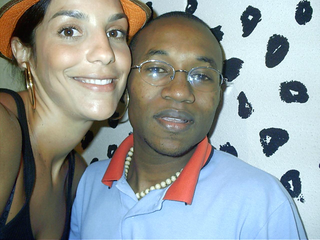 Ivete Sangalo e Gilson Guabiraba