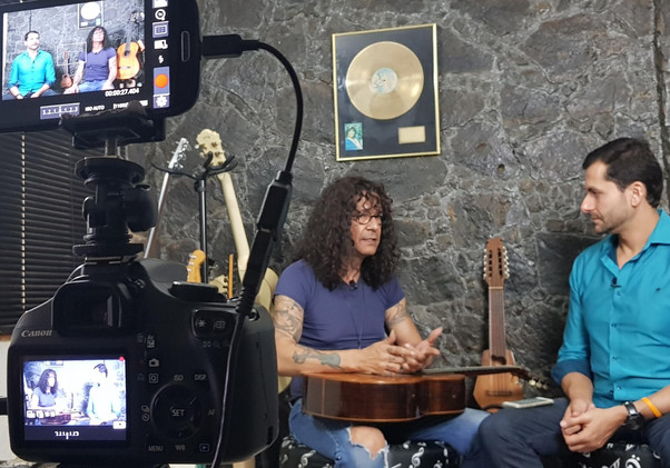Gravação de entrevistas
