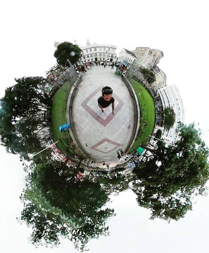 camera 360º street