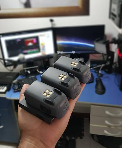 baterias do drone